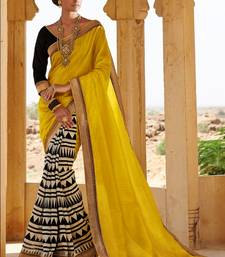 Strollay Couture Saree with Un-Stitched Blouse shop online