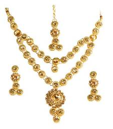 Buy Brown Diamond jewellery gemstone-necklaces gemstone-necklace online