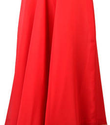 Georgette Red Gotta Patti Skirt with Tassel shop online