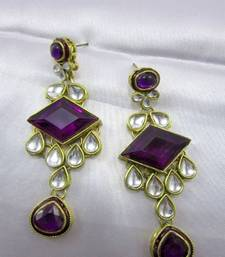 Buy Ethnic Kundan Earrings danglers-drop online
