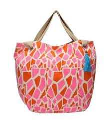 Buy Pink Printed hand bag  pp26  A  muhenera bags collection  handbag online
