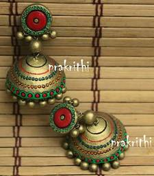 Buy terracotta jewellery jhumka online