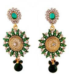 Ethnic Earrings in Austrain Diamonds shop online