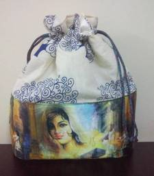 Buy Mystique Princess Tree Digital Print Potli potli-bag online