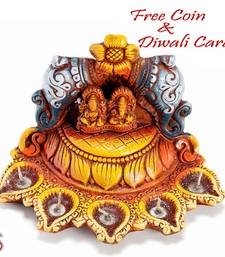 Buy Temple design Diwali Diya Tray diwali-decoration online