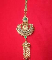 Buy Pretty key ring in polki-KR003 key-chain online