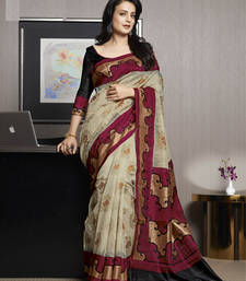 Buy Styloce Multi Color Bhagalpuri Silk Saree-STY-106-11447 bhagalpuri-silk-saree online