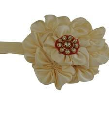 Buy Cream 7 Flower baby  hairband hair-accessory online