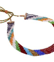 Buy FIVE STRINGS MULTI COLOUR CRYSTAL MALA FROM HYDERABAD - necklace-set online