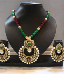 Buy Design no. 10b.2041....Rs. 2600 necklace-set online