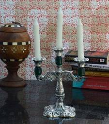 Buy Decorative Green Candle stand candle online