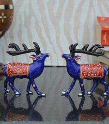 Buy Combo of Meenakari Deer Figurine home-decor online