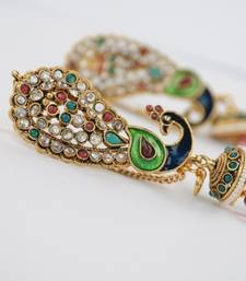 Traditional Full Ear Peacock Earrings shop online