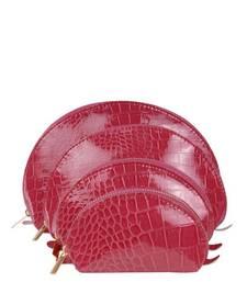 Buy Just Women - Set of 4 Indian Red Purse wallet online