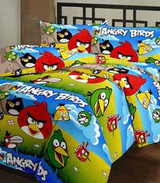 Buy eCraftIndia Angry Birds Kids Single Bed Reversible AC Blanket home-furnishing online