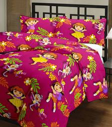 Buy eCraftIndia Dora Doll Kids Single Bed Reversible AC Blanket home-furnishing online