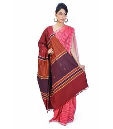 Buy Stripes n Booti Design Warm Maroon Cashmilon Shawl shawl online