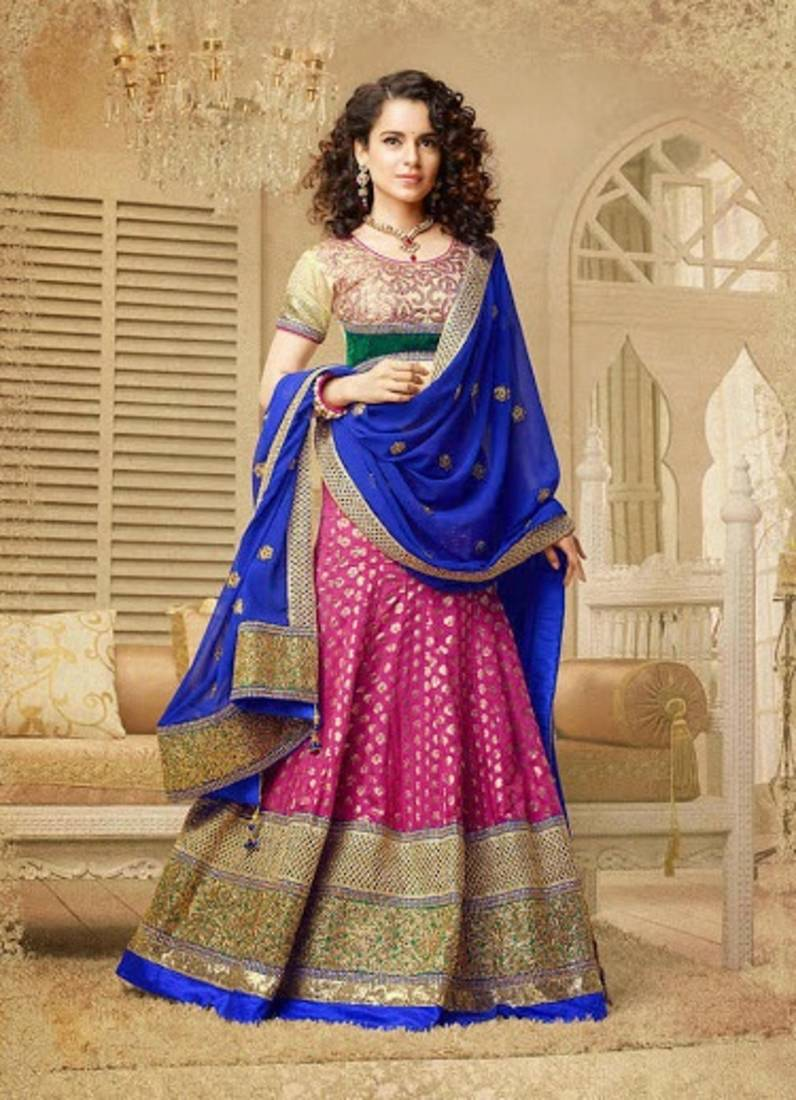 Buy Designer Heavy Traditional Look Lehenga By Kangana
