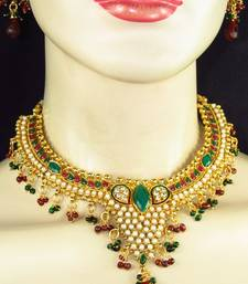 Buy Polki necklace set. necklace-set online