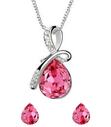 Buy Pink Paradise Pendant Set wedding-gift online