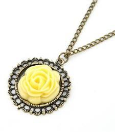 Buy Yellow Flower Neck Piece(CFN0016) Necklace online