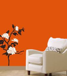 Buy White Flowers small wall-decal online, Buy wall-decals online