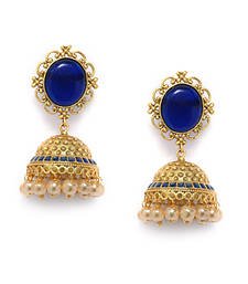 Buy Irresistible Matte Finish Earrings jhumka online