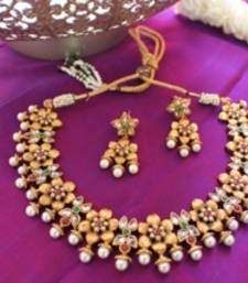 Buy Design no 10b.2148....Rs. 1900 necklace-set online