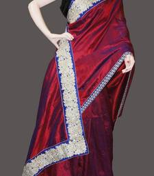 Buy RED DIVA silk-saree online