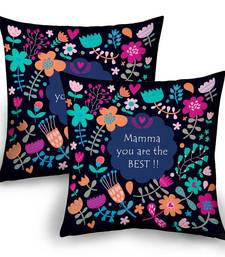 Buy Mamma You Are The Best Floral Design Cushion Pair gifts-for-mom online