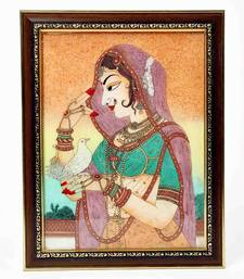 Buy Cute Bani Thani Gemstone Painting Mothers Day gifts-for-mom online