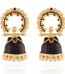 Buy Enticing Gold plated Antique  Jhumka jhumka online