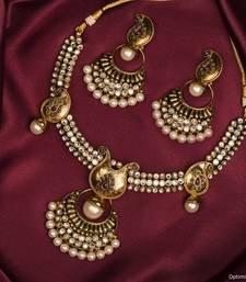 Buy Design no. 10b.2226....Rs. 2500 necklace-set online