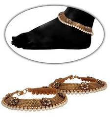 Buy Design no. 21.484....Rs. 2750 anklet online