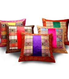 Buy Assorted Velvet n Brocade 5 Pc. Cushion Covers Set other-home-furnishing online