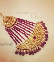 """Buy """"Paakeza' Ruby Jhummar hair-accessory online"""