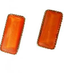 Buy Orange Rect Earrings gifts-for-her online