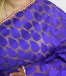 Buy Purple dew drop saree tissue-saree online, Buy tissue-sarees online