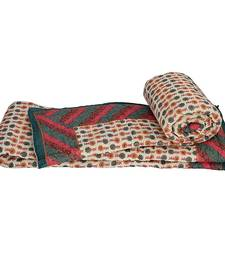 Buy Rajasthani Printed Cotton Single Bed Quilts jaipuri-razai online