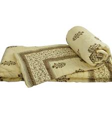 Buy Rajasthani Floral Designer Single Bed Quilts jaipuri-razai online