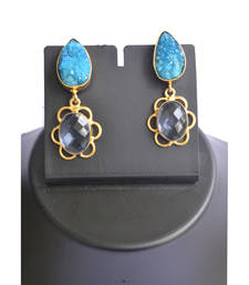 Buy Water splash earrings gemstone-earring online