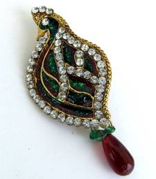 Buy Peacock Saree-Pin gifts-for-her online