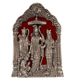 Buy While Metal Statue of Ram-Sita thanksgiving-gift online
