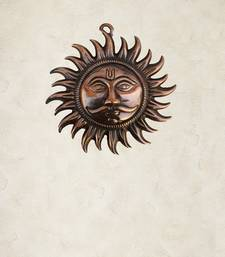 Buy Metal Wall Hanging of Sun wall-art online