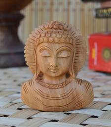 Buy Wooden Carved Lord Buddha new-year-gift online