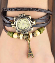 Buy Women's Casual Brown Watch Ladies Bracelet Watch Butterfly gifts-for-sister online