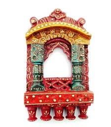 Buy Ethnic Jharokha - Hand painted  wall-art online