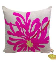Buy Floral Embroidered Cushion Cover pillow-cover online