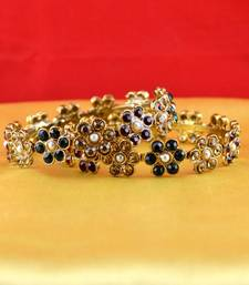 Buy gold platted bangles size-2.4 Ring online