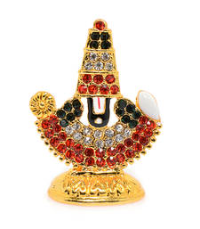Buy Religious Metal and stone studded Balaji Idol Other online